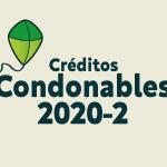 Créditos condonables para matrícula 2020-2